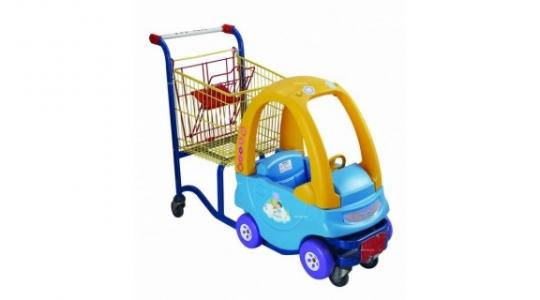 Детская тележка-автомобильчик STC02-BY